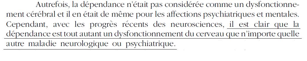 11 - Dépendance - Neuro