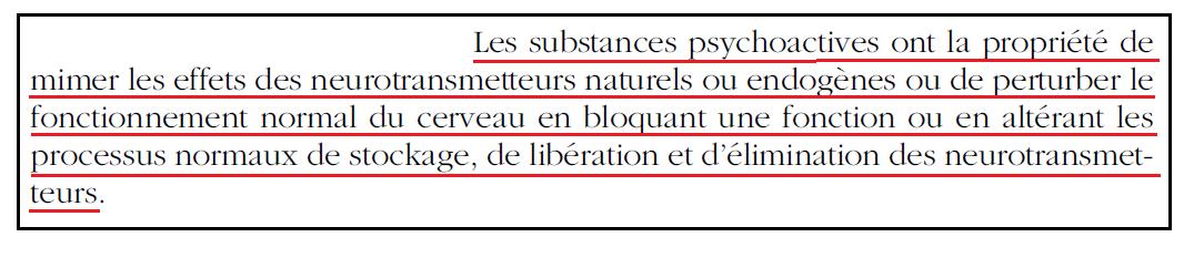 27 - Dépendance - Mimétisme provoqué par substances