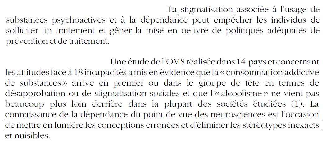 7 - Stigmatisation