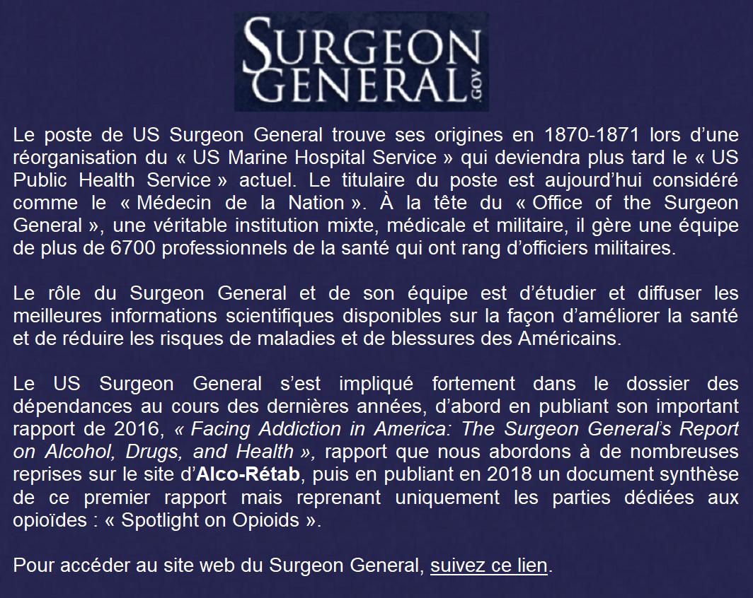 6 - surgeon general