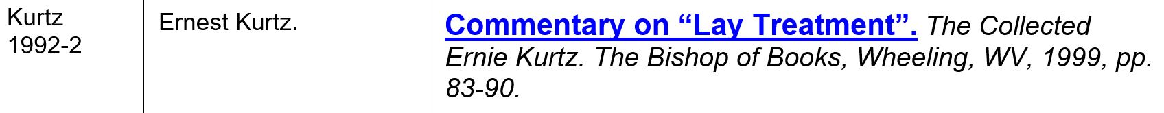 kurtz 1992-2