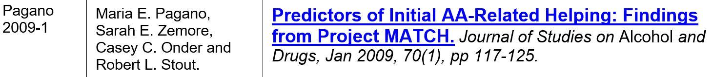 _pagano 2009-1 predictor pour aider les autres