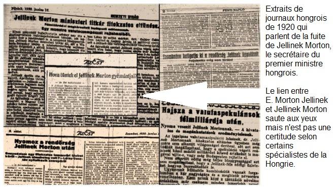 40f - Morton Jellinek en fuite - 1920