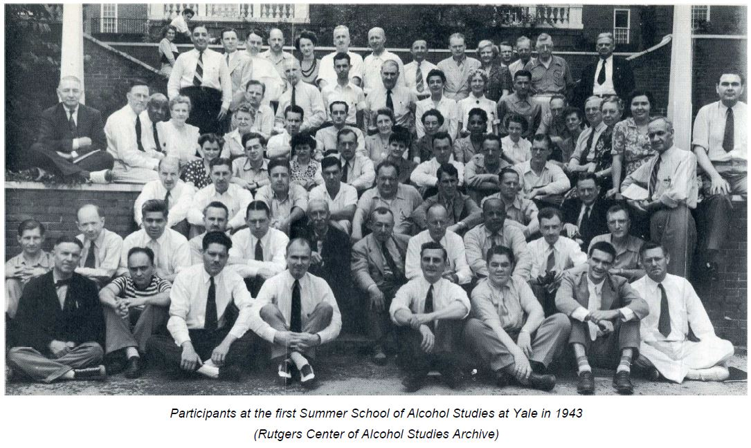 41h 1st Summer school on Alcoholic Studies - 1943