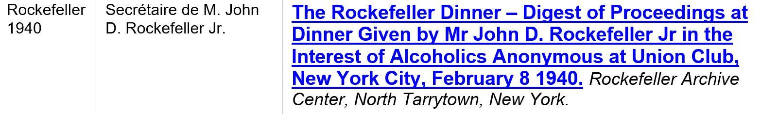 Rockefeller 1940
