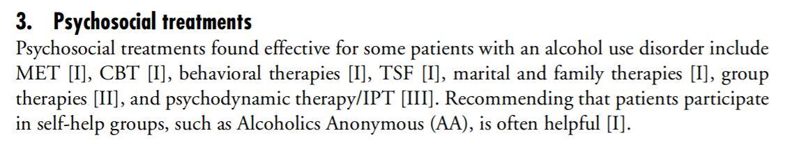 24 - Guidelines p 13 - Traitements psychosociaux AA
